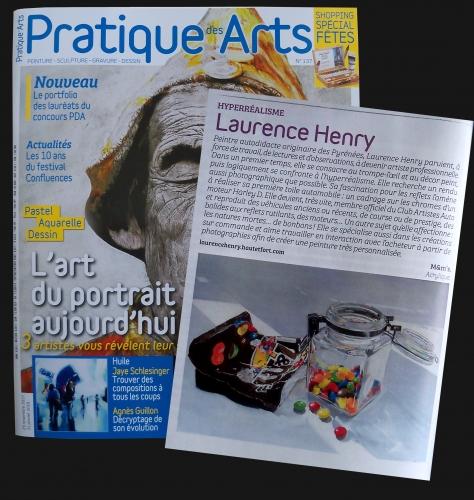 article, presse, pratique des arts