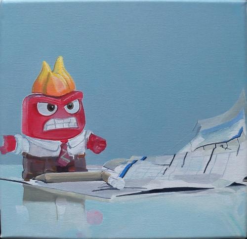 hyperréalisme,jouet,painting