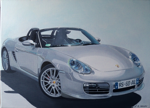 porsche, art automobile, boxster