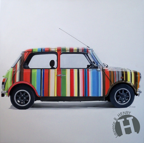 mini,austin,paul smith