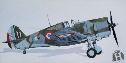 curtiss,hawk,peintre de l'air