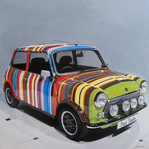 Mini austin, Paul smith, painting