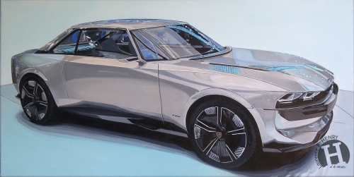 peugeot e-legend,art,automobile,concept