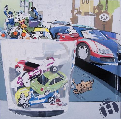 hyperréalisme,automobile,jouet