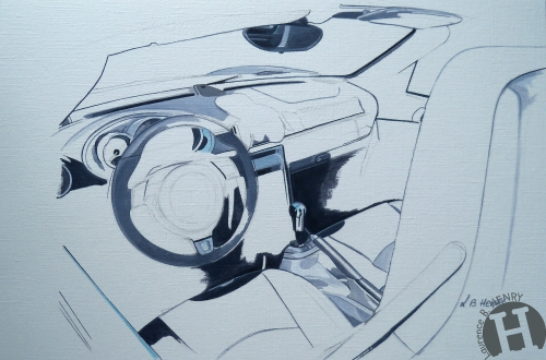 porsche,boxster,art automobile,flat6